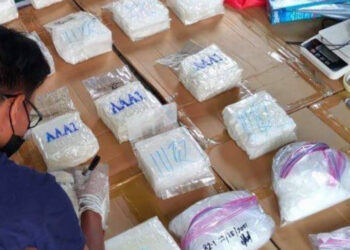 Four Chinese died as anti-drug agents seize P262-million worth shabu in Pampanga. (PDEA photo)